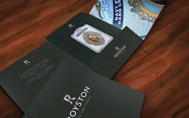 Nude Brand Creation Rebrands Royston with Premium design to Tap into Drinks Market