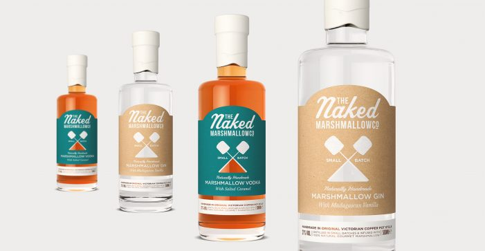 Design Happy Brands New Marshmallow Infused Spirits For Naked