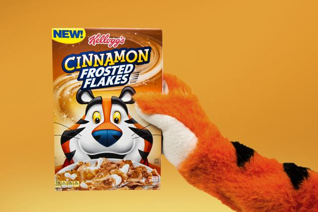 Tony The Tiger Hits The Road To Introduce New Kellogg's Cinnamon Frosted Flakes