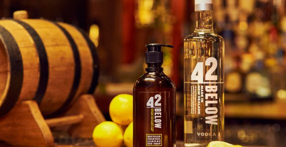 42BELOW Vodka Launches 'Recycled Cocktail Lemons Eco Soap' Sustainability Initiative
