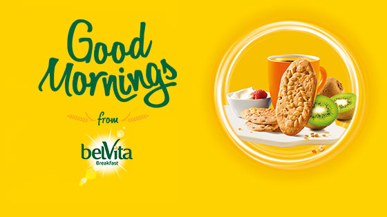 belVita Breakfast Launches Brand New 'Good Mornings' Campaign
