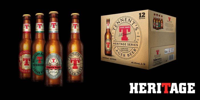 Tennent's Dives into its Brewing Archives to Inspire Limited Edition Heritage Design