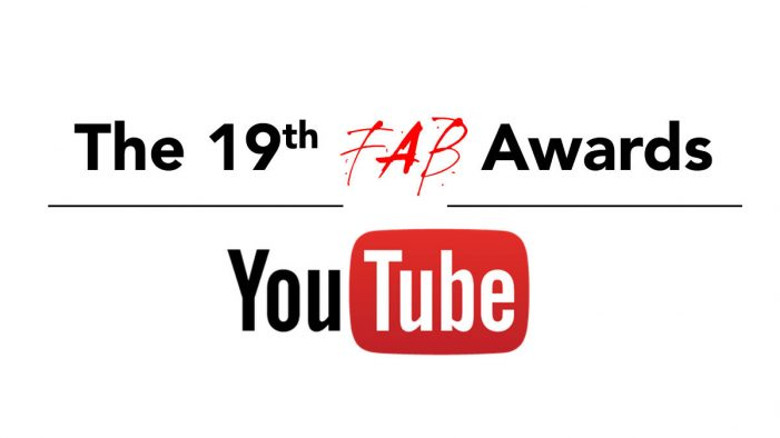 YouTube to Partner with The 19th FAB Awards and The FAB Forum