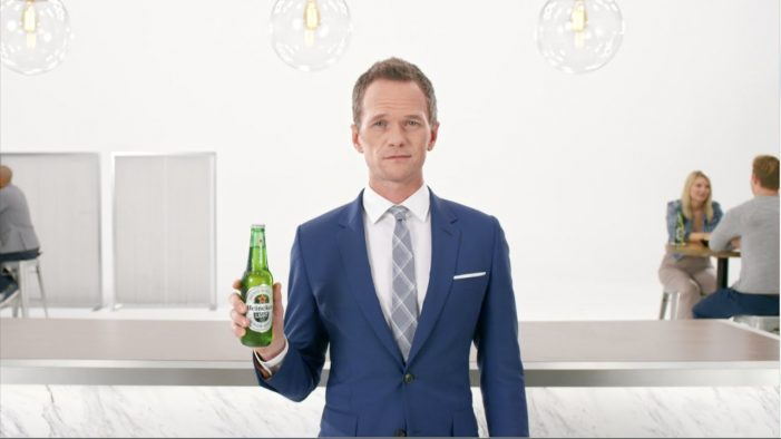 Neil Patrick Harris Hypnotizes Viewers in First Heineken Light Commercial of 2017