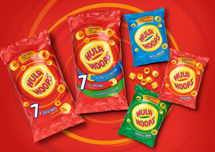 Hula Hoops Enhances Its Playful Side with Rebrand by Coley Porter Bell