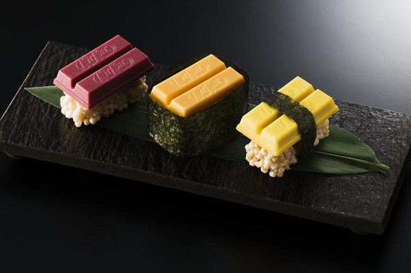Kit Kat Unveils Limited Edition 'Sushi' Chocolate In Tokyo
