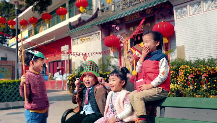 DDB Hong Kong Sees New Year Through a Child's Eyes in Campaign for McDonald's