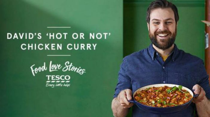 Fall in Love with BBH's 'Food Love Stories' Campaign for Tesco
