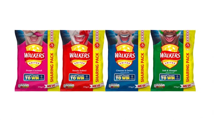 Walkers Launches New Re-Sealable Sharing Pack Supported by UEFA Champions League Promotion