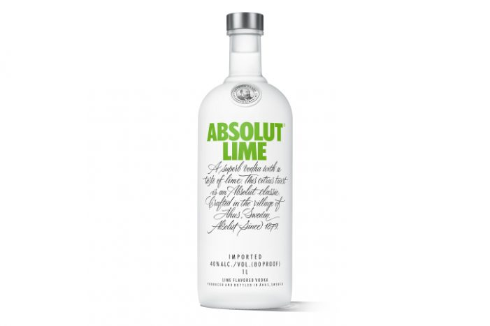 Absolut Launches New Absolut Lime, the Latest Addition to the Brand's Flavour Portfolio