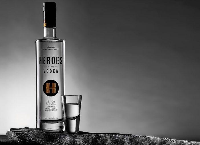 Heroes Vodka Designed by RRD Creative Pledges Profits to UK Armed Forces