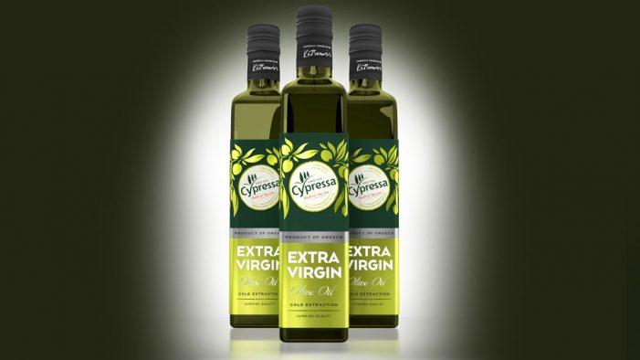 Slice Design Gives Cypressa's Olive Oil Range a Fresh New Look
