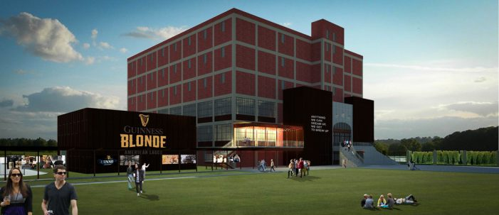 Diageo Intend to Bring Highly Successful Guinness Open Gate Brewery Concept to USA
