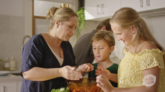 HelloFresh Brings Families Together in the Kitchen in 'Inspiration Delivered' Push