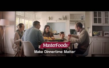 Masterfoods Builds on 'Make Dinnertime Matter' Platform with New Film