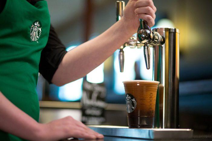Starbucks Debuts Nitro Cold Brew in the UK