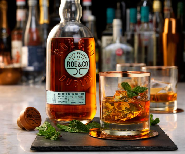 Diageo to Launch Premium Blended Irish Whiskey Roe & Co