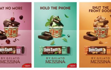 Collaboration Between Tim Tam and Gelato Messina Sparks Mayhem