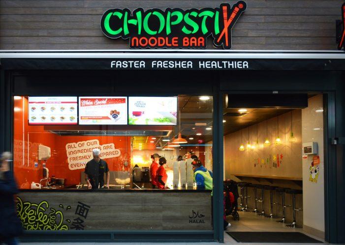 Mystery Ltd. Refreshes Chopstix Noodle Bar's Brand