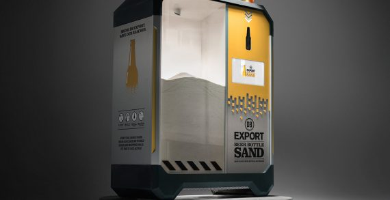 DB Breweries Crushes Beer Bottles into Sand to Save New Zealand's Beaches