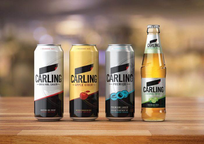 BrandOpus Refreshes Carling's Brand Identity Across its Entire Portfolio