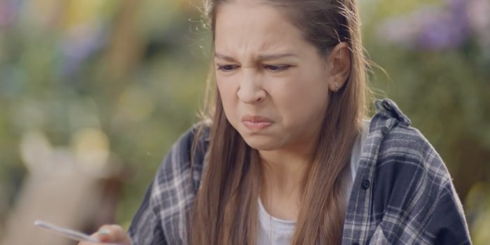 Milka's New Ad Shows the Best Faces Reacting to Less Palatable Foods