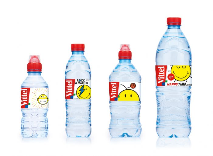 The Original Smiley Brand and Vittel Team-up to Launch Smiley Branded Water in Europe