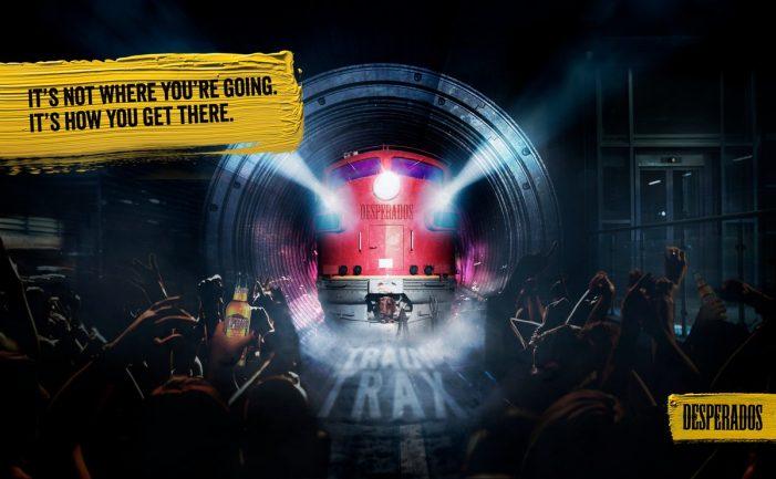 Desperados Turns a Train into a Musical Instrument