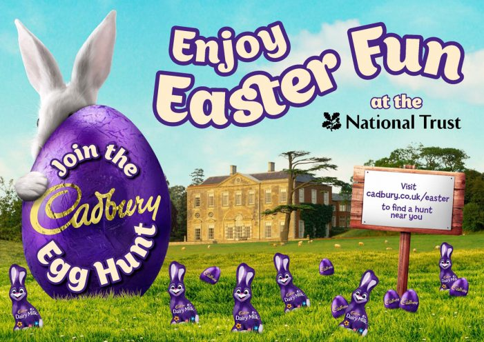 RPM Launches Cadbury Egg Hunts Campaign at National Trust Properties