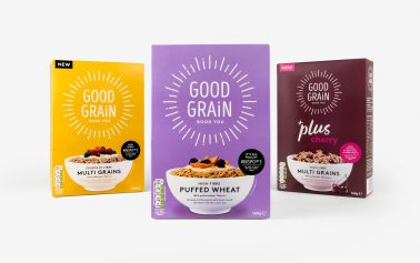 Good Grain Raises the Breakfast Bar with Irresistible Health Credentials and a Tasty New Identity