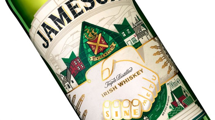 Pearlfisher & Steve McCarthy Team to Create Jameson's St Patrick's Day Bottle
