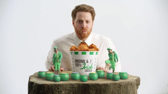Tongue-in-Cheek Irish Stereotypes Welcome in KFC's 'O'Sanders Feast'