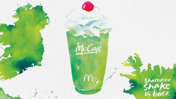 Moroch Unveils Artistic New Ads For McDonald's Shamrock Shake