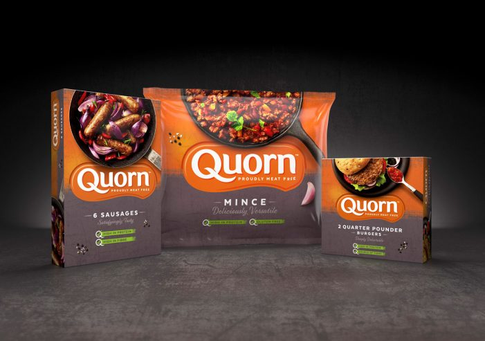 Quorn Packs Meat-Free Category Full of Flavour, with Aspirational New Design by Bulletproof