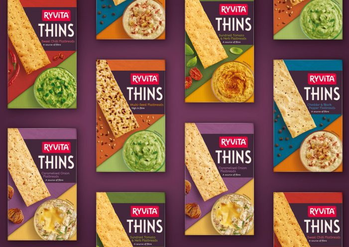 Ryvita Appoints Coley Porter Bell to Establish Thins as the UK's Go To Premium Snack