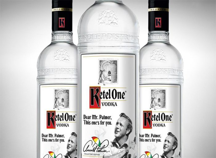 "Ketel One Vodka Unveils their ""Arnold Palmer Collector's Edition"" Bottle"