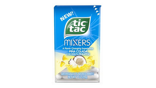 Ferrero Introduces New Piña Colada Tic Tac Mixers