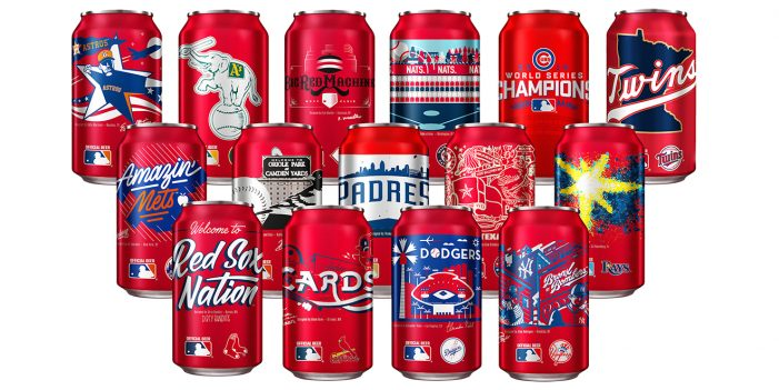 Hometown Artists & Lifelong Baseball Fans Design New MLB Team Cans for Budweiser