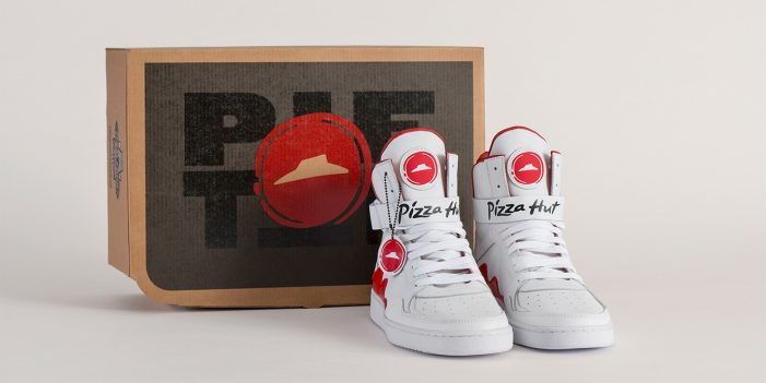 """Pizza Hut's New """"Pie Tops"""" Shoes Can Order Pizza for their Customers"""