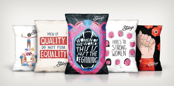 Stacy's Pita Chips Unveil Limited-Edition Bags for Women's History Month