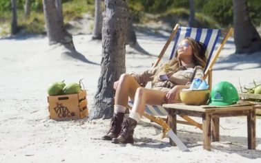 Chrissy Teigen Plays a Coconut 'Plant Manager' in New Vita Coco Spot