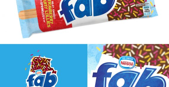FAB at 50! Springetts Redesigns FAB Lollies for Froneri