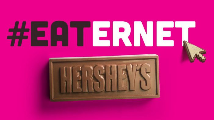 "Hershey's Launches an ""Edible"" Chocolate Site"
