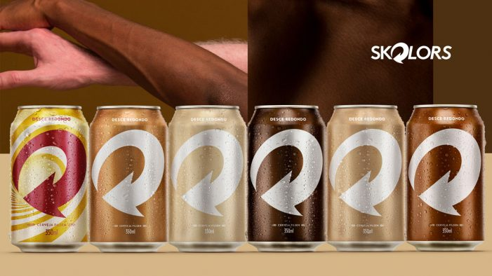 Skol Unveils Limited Edition Skin-Coloured Cans & Makes a Toast to Diversity