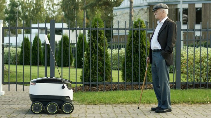 Domino's Pizza Droid Delivers the Goods in Holland and Germany
