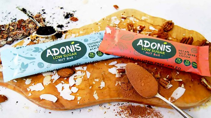 Adonis Smart Foods Kick Off Low Sugar Revolution with New Snack Bars