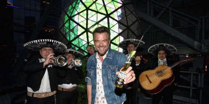 Corona Team with Josh Duhamel to Transform the Times Square Ball into a Lime