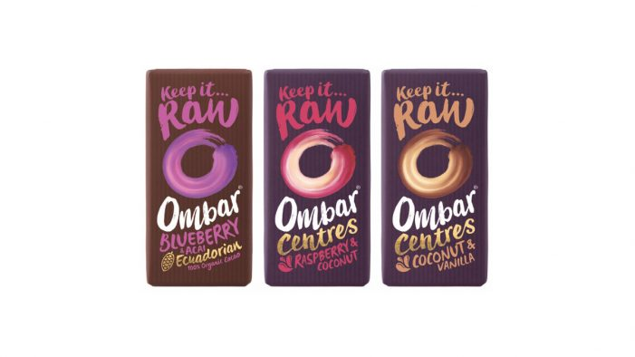 Mood Foods Retain Ocean Branding to Redesign their OMBAR Chocolate Brand