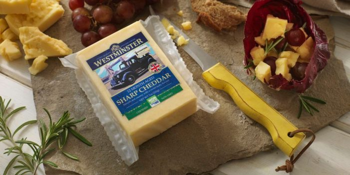Somerdale Launches New 'Westminster Sharp', a Fully Accredited, Non-GMO British Cheddar