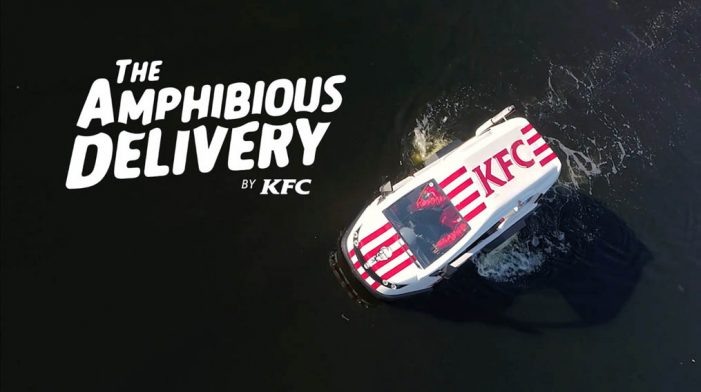 Ogilvy Philippines Takes KFC To A Place Where No Fried Chicken Has Gone Before